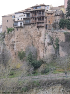So-called hanging house sat Cuenca